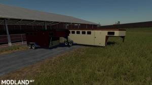 EXP19 3 and 6 horse trailers, 1 photo