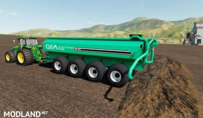 3 GEA Houle Manure Spreaders v 1.0, 1 photo