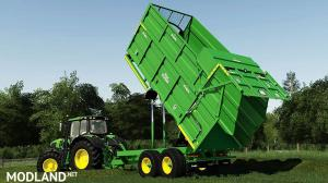 Broughan 18F Silage Trailer v 1.0, 4 photo