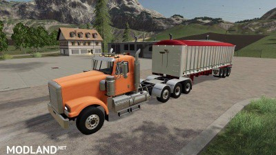 6 Axle Dump Trailer v 1.1, 1 photo