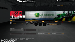 FS19 JOHN DEERE KOGEL AUTOLOADER TRAILER, 2 photo