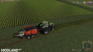 FS 19 VERY FAST Bale WRAPPING , 4 photo