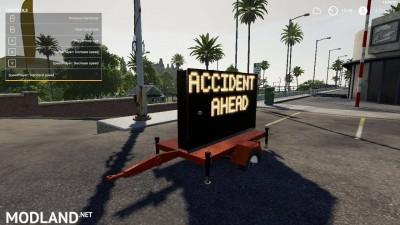 Accident ahead sign beta, 4 photo