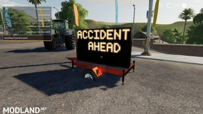 Accident ahead sign beta, 5 photo