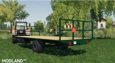 Bale LOADING TRAILER v 1.0, 2 photo