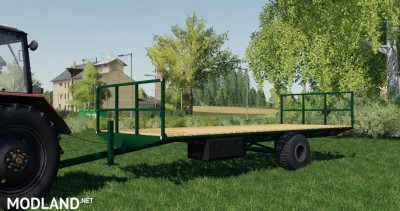 Bale LOADING TRAILER v 1.0, 1 photo