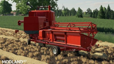 Bizon Z056 Cutter Trailer v 1.0, 1 photo