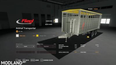 Fliegl animal trailer v 1.0, 2 photo