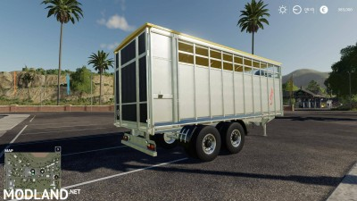 Fliegl animal trailer v 1.0, 4 photo