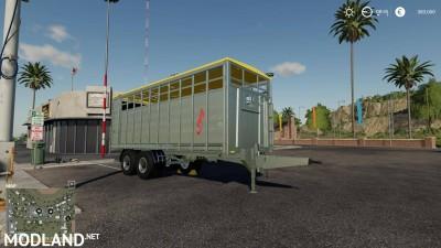 Fliegl animal trailer v 1.0, 5 photo