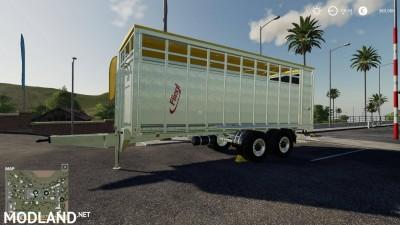 Fliegl animal trailer v 1.0, 1 photo