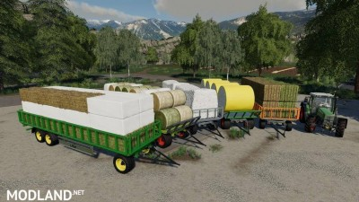 Fliegl DPW 180/210 Bales-Autoload v 1.3, 2 photo