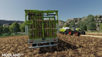 Fliegl DPW 180/210 Bales-Autoload v 1.3, 4 photo