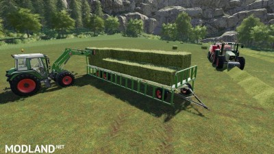 Fliegl DPW 180/210 Bales-Autoload v 1.3, 5 photo