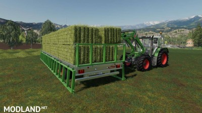 Fliegl DPW 180/210 Bales-Autoload v 1.3, 6 photo