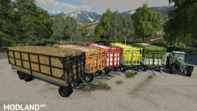 Fliegl DPW 180/210 Bales-Autoload v 1.3, 1 photo