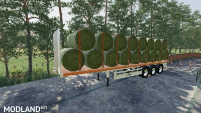 Fliegl Flatbed Semitrailer v 1.1, 3 photo