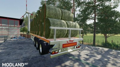 Fliegl Flatbed Semitrailer v 1.1, 4 photo
