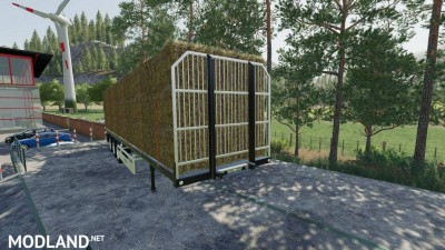 Fliegl Flatbed Semitrailer v 1.1, 6 photo