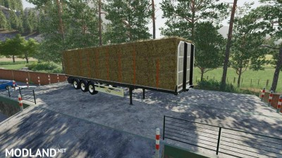 Fliegl Flatbed Semitrailer v 1.1, 1 photo