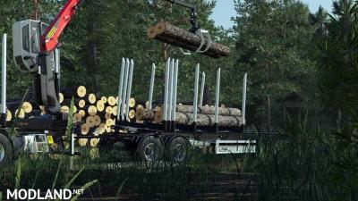 Fliegl Log Trailer v 2.0, 2 photo