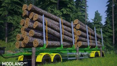 Fliegl Log Trailer v 3.0, 2 photo
