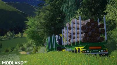 Fliegl Log Trailer v 3.0, 5 photo