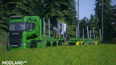 Fliegl Log Trailer v 3.0