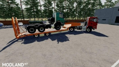 Fliegl Low Loader v 1.0, 2 photo