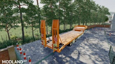 Fliegl Low Loader v 1.0, 3 photo