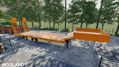 Fliegl Low Loader v 1.0, 1 photo