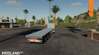 Fliegl SDS 350 Flatbed Trailer v 2.0, 2 photo