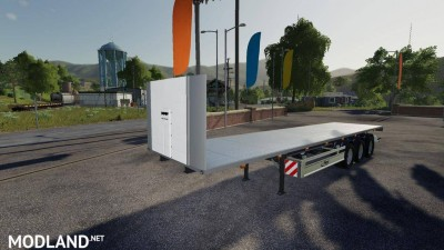 Fliegl SDS 350 Flatbed Trailer v 2.0 - Direct Download image