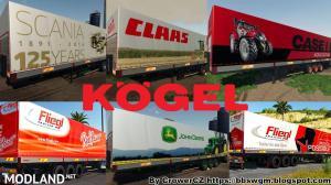 FS 19 MEGA KOGEL TRAILERS PACK v 1.1, 5 photo