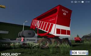 FS 19 MASSEY FERGUSON KRONE CARGO v 1.0.0.1, 7 photo