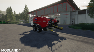FS 19 VERY FAST Bale WRAPPING , 3 photo