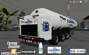 FS19 Trailer Milk Candia by BOB51160 v 1.0, 4 photo