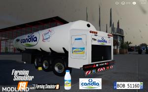 FS19 Trailer Milk Candia by BOB51160 v 1.0, 5 photo