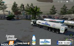 FS19 Trailer Milk Candia by BOB51160 v 1.0, 7 photo