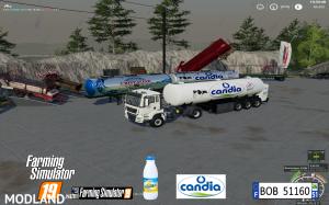 FS19 Trailer Milk Candia by BOB51160 v 1.0, 8 photo