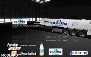 FS19 Trailer Milk Candia by BOB51160 v 1.0, 3 photo