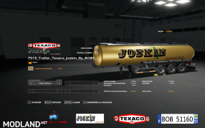 Texaco Joskin Trailer by BOB51160 v 1.1, 3 photo