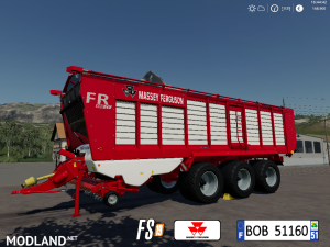 FS19 Massey Ferguson FR600CV by BOB51160, 1 photo