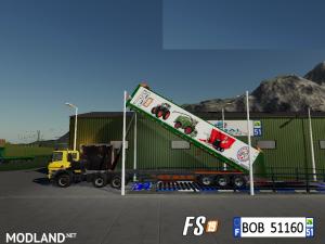 FS19 Trailer Dump Capacity 200000L by BOB51160, 7 photo