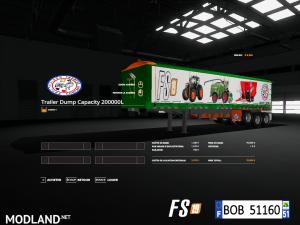 FS19 Trailer Dump Capacity 200000L by BOB51160, 2 photo