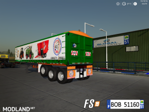 FS19 Trailer Dump Capacity 200000L by BOB51160, 5 photo