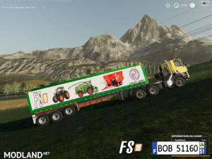 FS19 Trailer Dump Capacity 200000L by BOB51160, 6 photo
