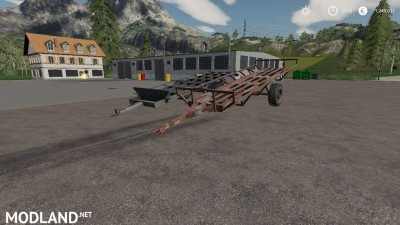 Hungarian Homemade Bale Trailer Pack v 1.0 - External Download image