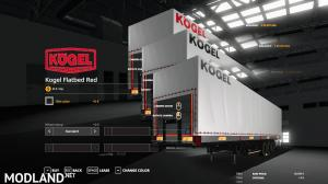 FS19 KOGEL AUTOLOADER PACK 3 COLORS LOGO, 1 photo