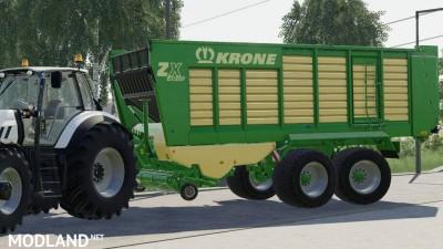Krone ZX 430 GD v 1.0, 3 photo